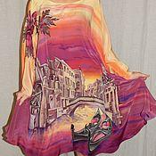 Одежда handmade. Livemaster - original item Batik`s a serape