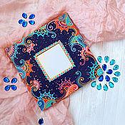"""Для дома и интерьера ручной работы. Ярмарка Мастеров - ручная работа Зеркало """"Цветочный орнамент"""". Handmade."""
