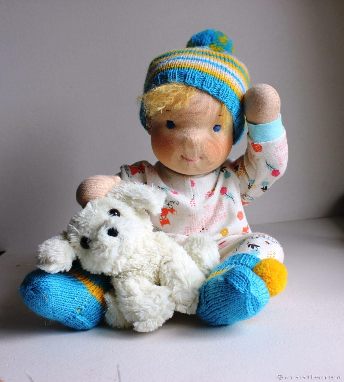 Вальдорфская игровая кукла-малыш,42 см Maiak_Dolls, Игрушки, Кострома, Фото №1