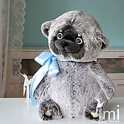 Куклы и игрушки ручной работы. Ярмарка Мастеров - ручная работа пухляшный миша. Handmade.