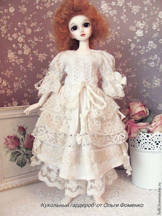 Одежда для кукол ручной работы. Ярмарка Мастеров - ручная работа. Купить Наряд БОХО  для куклы БЖД (MCD)  №28. Handmade.