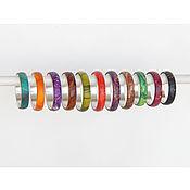 Украшения handmade. Livemaster - original item Colored rings.. Handmade.