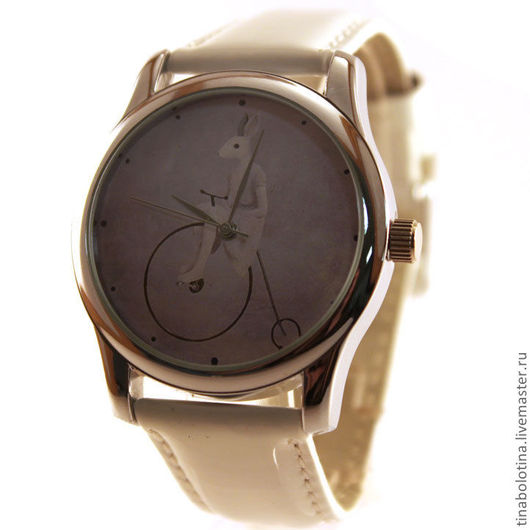 Часы ручной работы. Ярмарка Мастеров - ручная работа. Купить Дизайнерские наручные часы Велосипед Пенни-Фартинг. Handmade.