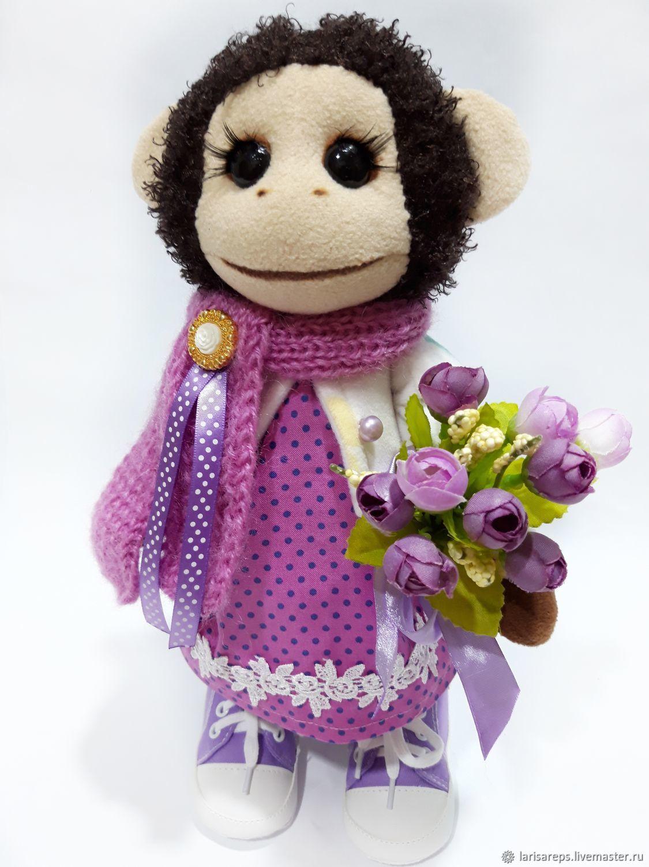 Toy Monkey, Stuffed Toys, St. Petersburg,  Фото №1