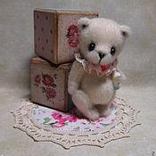 """Куклы и игрушки ручной работы. Ярмарка Мастеров - ручная работа Мишка """" Белый шоколад"""". Handmade."""