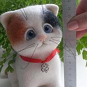 Куклы и игрушки ручной работы. Ярмарка Мастеров - ручная работа Котенок Счастье (продан). Handmade.