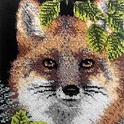 Картины и панно ручной работы. Ярмарка Мастеров - ручная работа Лис. Просто лис.. Handmade.