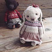 Куклы и игрушки ручной работы. Ярмарка Мастеров - ручная работа Зайка в скандинавском стиле. Handmade.