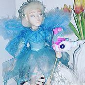 Куклы и игрушки handmade. Livemaster - original item Doll made of polymer baked clay angel.. Handmade.
