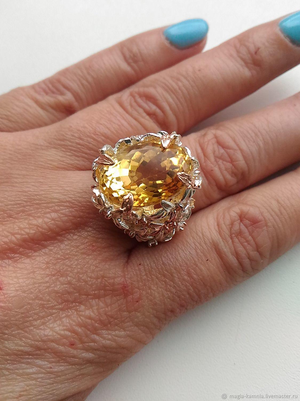 Серебряное кольцо Алламанд, Кольца, Белая Калитва,  Фото №1