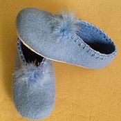 """Обувь ручной работы. Ярмарка Мастеров - ручная работа Тапочки """" нежность"""". Handmade."""