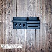 Для дома и интерьера handmade. Livemaster - original item Shelves: wall-mounted wood. Handmade.
