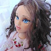 Куклы и игрушки ручной работы. Ярмарка Мастеров - ручная работа Анджелина, авторская текстильная кукла, artdoll. Handmade.