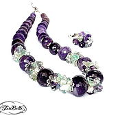 Украшения handmade. Livemaster - original item Necklace of amethyst