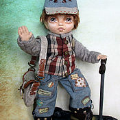 Куклы и игрушки handmade. Livemaster - original item Little boy. Handmade.