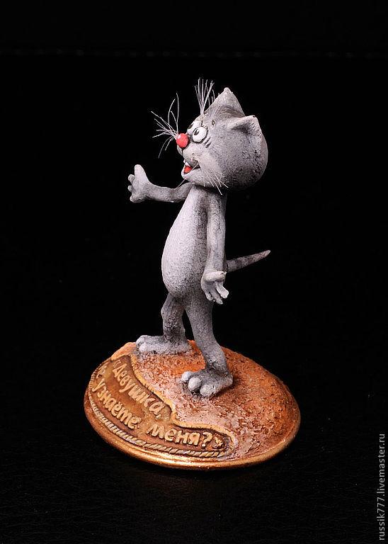 Купить Котёнок с улицы Лизюкова - миниатюра, котенок с ...