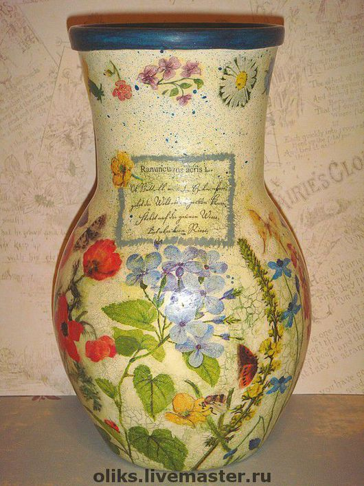 Decanters & Jugs handmade. Livemaster - handmade. Buy A glass pitcher of Summer.Summer, rice paper