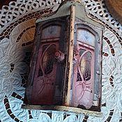 """Для дома и интерьера ручной работы. Ярмарка Мастеров - ручная работа Шкатулка """"Дверь в Париж"""". Handmade."""