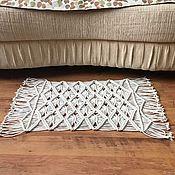 Для дома и интерьера handmade. Livemaster - original item Macrame carpet. Handmade.