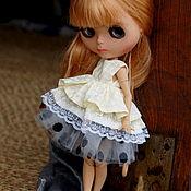Куклы и игрушки ручной работы. Ярмарка Мастеров - ручная работа Платье для куклы Блайз. Handmade.