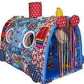 """Куклы и игрушки ручной работы. Ярмарка Мастеров - ручная работа Развивающая игрушка Чудо-Поезд """"Морской""""-3. Handmade."""
