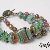 Украшения handmade. Livemaster - original item Bracelet Autumn motives. Handmade.