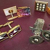 Винтаж handmade. Livemaster - original item Cufflinks vintage. Handmade.