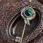 """Украшения ручной работы. Ярмарка Мастеров - ручная работа Кулон """"Волшебный ключ"""". Handmade."""