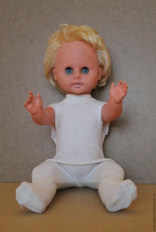 Винтажные куклы и игрушки. Ярмарка Мастеров - ручная работа. Купить Кукла ГДР, Раунштайн, 46 см., в родной одежде.. Handmade.
