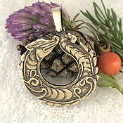Фен-шуй и эзотерика handmade. Livemaster - original item Scythian Sea dragon amulet talisman amulet made of metal. Handmade.