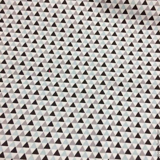 Шитье ручной работы. Ярмарка Мастеров - ручная работа. Купить Ткань хлопок. Handmade. Чёрно-белый, ткань, хлопок, для мальчиков