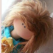 Куклы и игрушки ручной работы. Ярмарка Мастеров - ручная работа Феечка  Бирюза. Handmade.