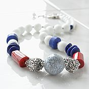 Украшения handmade. Livemaster - original item The beads in a nautical style, NAUTICAL. Handmade.