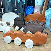 Куклы и игрушки ручной работы. Ярмарка Мастеров - ручная работа Самоходная игрушка. Handmade.