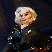 """Куклы и игрушки ручной работы. Ярмарка Мастеров - ручная работа Кукла """"Клэр и пантера"""" (потрет актрисы мюзикла Пии Даус). Handmade."""