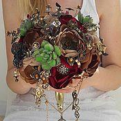 Свадебный салон handmade. Livemaster - original item wedding brooch bouqeut steam pank. Handmade.