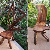Для дома и интерьера handmade. Livemaster - original item Chair in the style of root plastic. Handmade.