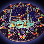 """Для дома и интерьера ручной работы. Ярмарка Мастеров - ручная работа Часы настенные """"Арабская ночь"""". Handmade."""