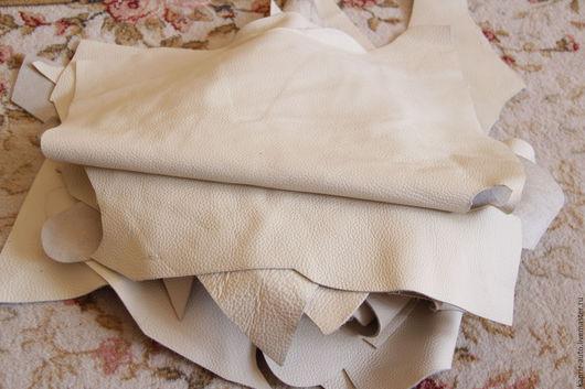 Шитье ручной работы. Ярмарка Мастеров - ручная работа. Купить №323.Молочная. 2 мм.1.8 кг. Натуральная кожа. Handmade.