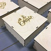 Сувениры и подарки handmade. Livemaster - original item Gift box with your design.. Handmade.