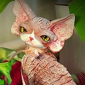Куклы и игрушки handmade. Livemaster - original item Windi. Cat Devon Rex.. Handmade.