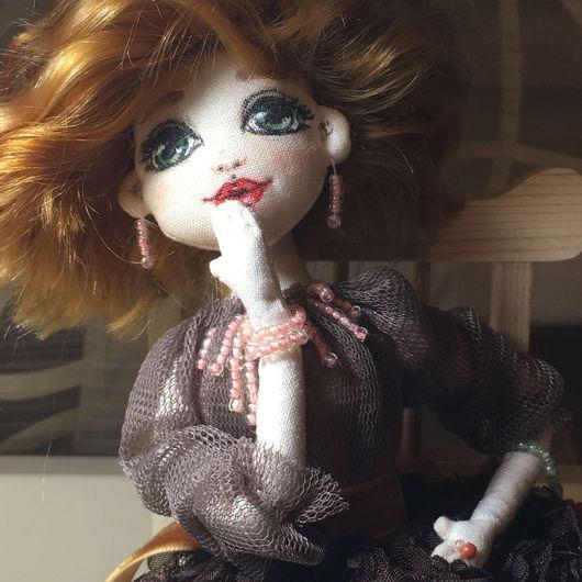 Коллекционные куклы ручной работы. Ярмарка Мастеров - ручная работа. Купить Текстильная кукла. Handmade. Комбинированный, текстильная кукла