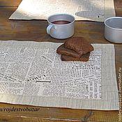 """Сувениры и подарки ручной работы. Ярмарка Мастеров - ручная работа Подложки """"Подстели газетку!"""". Handmade."""