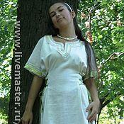 Одежда ручной работы. Ярмарка Мастеров - ручная работа платье-рубаха. Handmade.