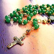 Necklace handmade. Livemaster - original item Necklace-rosary