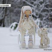 Куклы и игрушки ручной работы. Ярмарка Мастеров - ручная работа куколка Gvenn & Khabbi. Handmade.