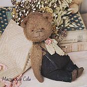 Куклы и игрушки handmade. Livemaster - original item Myron. author Teddy bear handmade. Handmade.
