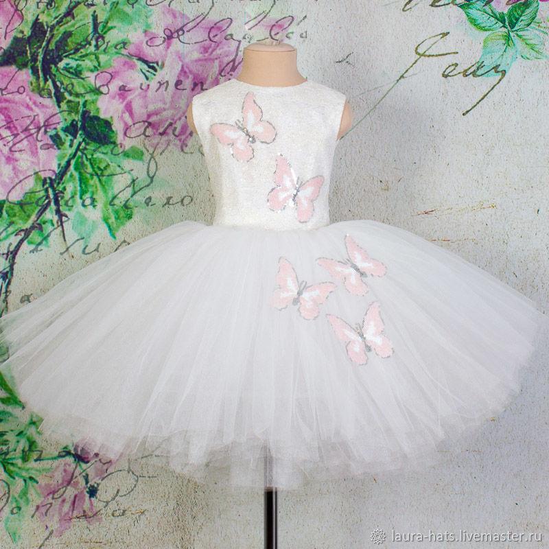 020baf40e3e9e98 Одежда для девочек, ручной работы. Ярмарка Мастеров - ручная работа. Купить  Нарядное платье ...