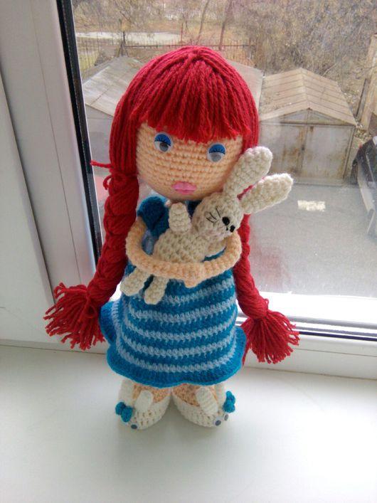 Сказочные персонажи ручной работы. Ярмарка Мастеров - ручная работа. Купить Вязаная кукла Алиса. Handmade. Вязаная куколка алиса