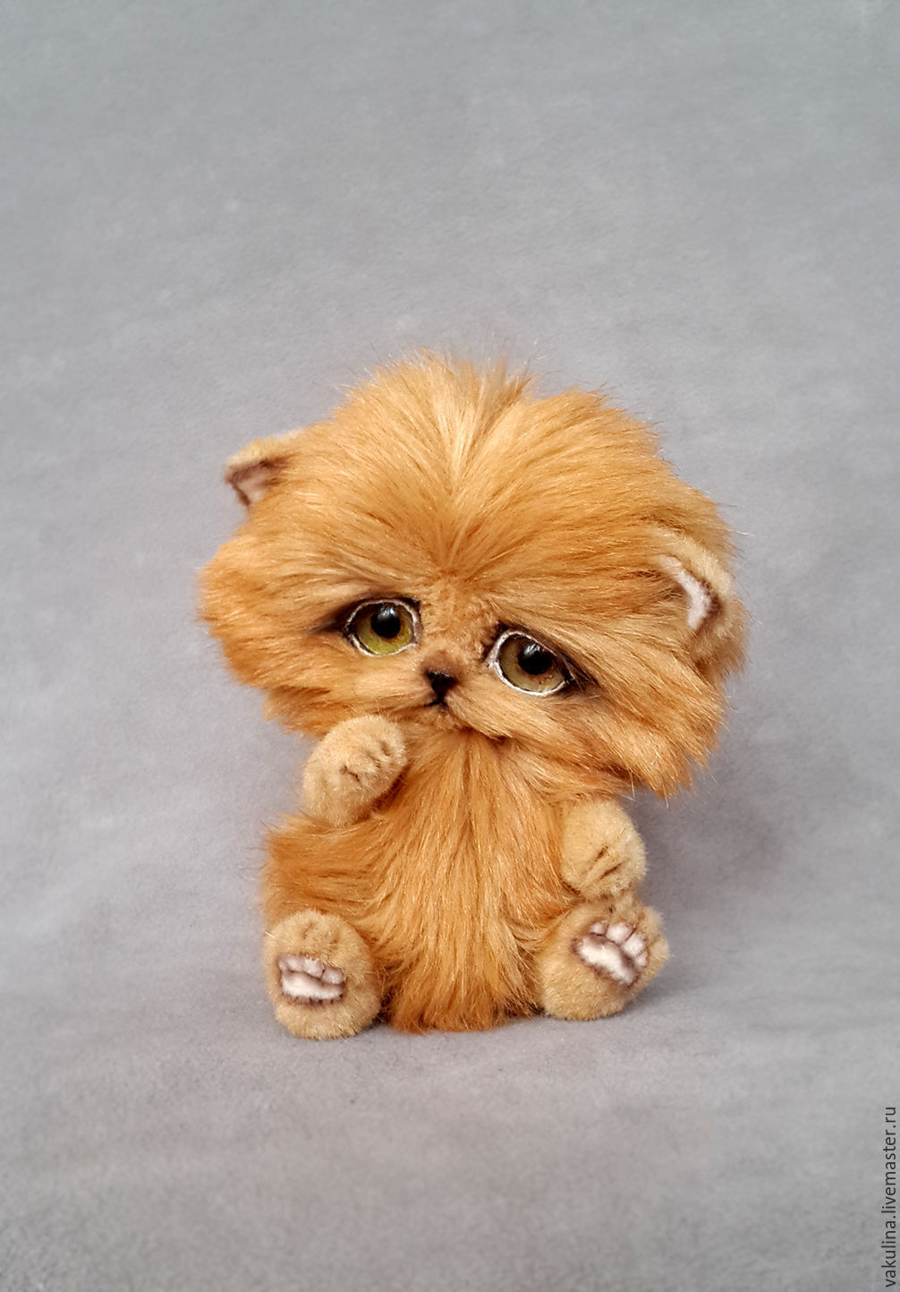 kitten Teddy ginger, Teddy Toys, Chelyabinsk,  Фото №1